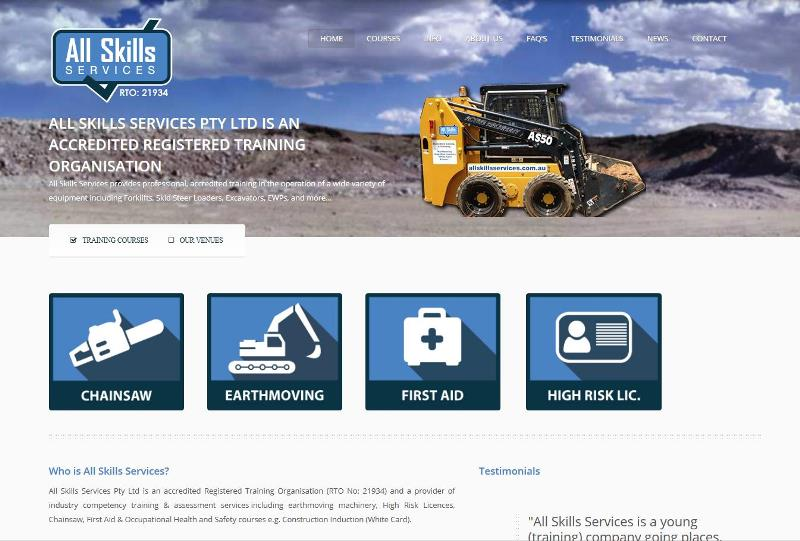 Home Page website